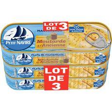 Petit Navire PETIT NAVIRE Filets de maquereaux à la moutarde à l'ancienne