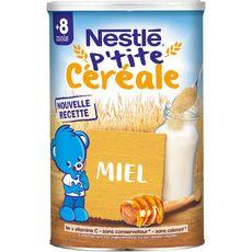 NESTLE Nestlé P'tite céréale au miel en poudre dès 8 mois 400g 400g