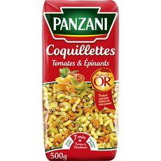 PANZANI Coquillettes tomates épinards 500g