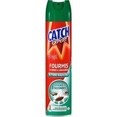 CATCH Catch Insecticide foudroyant anti-rampants fourmis cafards araignées 400ml 400ml