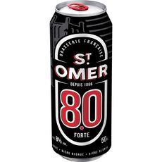ST OMER Bière blonde forte 8% boîte 50cl