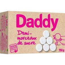 DADDY Sucre blanc en demi-morceaux 750g