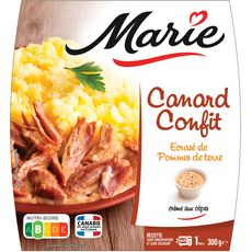 MARIE Canard confit et pommes de terre 1 portion 300g