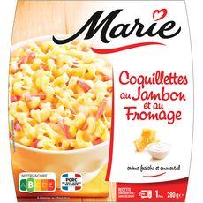 MARIE Coquillettes au jambon et fromage 1 portion 280g