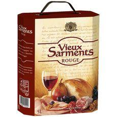 VIEUX SARMENTS Vin de la communauté européenne rouge 5L