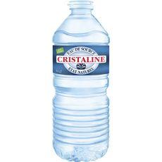 CRISTALINE Eau de source plate bouteille 50cl