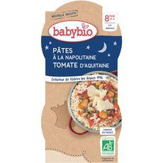 Babybio BABYBIO Assiette pâtes à la napolitaine bio dès 8 mois