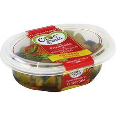 CROC'FRAIS Olives entières marinées à la provençale 250g