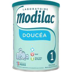 MODILAC Doucéa 1 lait 1er âge en poudre dès la naissance 800g