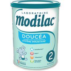 MODILAC Doucéa 2 lait 2ème âge en poudre dès 6 mois 800g