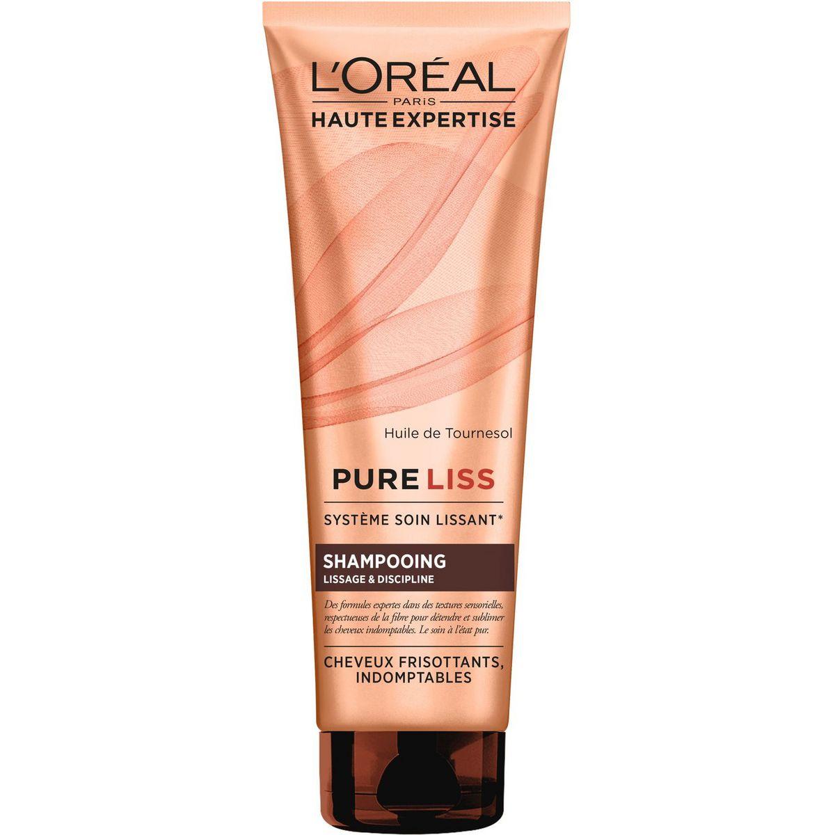 L'Oréal Pure Liss shampoing lissage & discipline cheveux frisottants 250ml