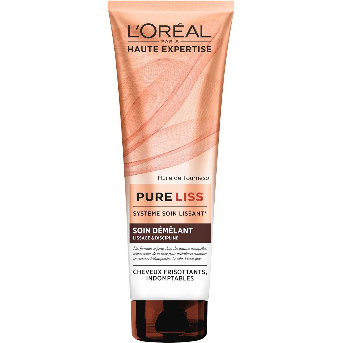 L'Oréal Pure Liss soin démêlant lissage cheveux frisottants 250ml