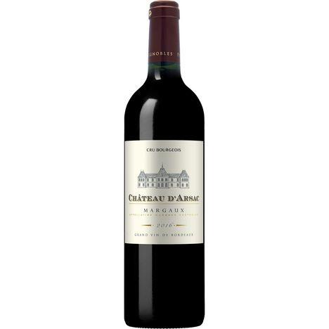 SANS MARQUE AOP Margaux cru bourgeois Château d'Arsac Bordeaux rouge 2016