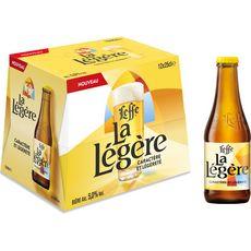 LEFFE Bière blonde La Légère 5% 12x25cl