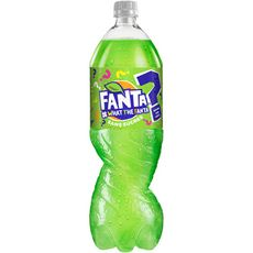 FANTA What The Fanta Boisson gazeuse aromatisée sans sucres 1,5l