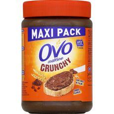 OVOMALTINE Pâte à tartiner crunchy maxi pack 660g