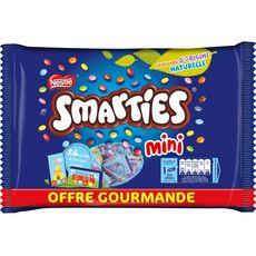 SMARTIES Mini bonbons de chocolat au lait dragéifiés 375g