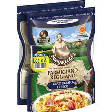 ENTREMONT PARMAREGGIO Parmesan râpé 2x60g 2x60g