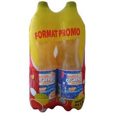 Auchan Soda orange sans pulpe 4x1.5l