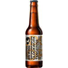 BREWDOG Bière blonde Clockwork Tangerine 4,5% bouteille 33cl