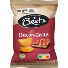 BRETS Chips goût bacon grillé 125g