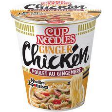 NISSIN Nouilles japonaises au poulet gingembre 1 personne 63g
