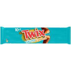 TWIX Barres chocolatées au caramel salé x10 450g