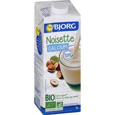 BJORG Boisson noisette calcium bio 1l