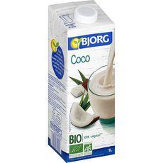BJORG Boisson coco bio 1l