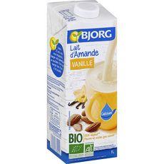 BJORG Lait d'amande vanille calcium bio 1l