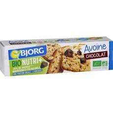 Bjorg Biscuits bio avoine et pépites de chocolat 130g pas cher à prix Auchan