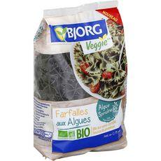 BJORG Bjorg Farfalles aux algues bio veggie, au blé dur semi-complet 400g 400g