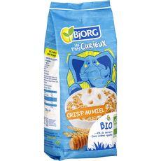 BJORG Bjorg Les P'tits Curieux Céréales crisp bio au miel 220g 220g