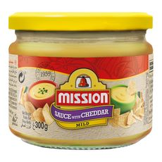 MISSION Sauce fromage cheddar 300g