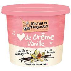 MICHEL ET AUGUSTIN Crème dessert à la vanille de Madagascar 400g