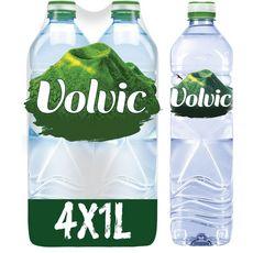 VOLVIC Volvic Eau minérale plate 4x1l 4x1l