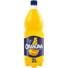 ORANGINA Boisson gazeuse à la pulpe de fruit jaune 2l