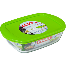 PYREX Pyrex Cook & Store Plat rectangulaire avec couvercle 23x15cm