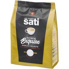 SATI Café heures exquises pur Arabica en dosette souple 36 dosettes 250g