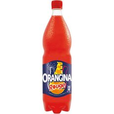 ORANGINA Boisson gazeuse à la pulpe de fruit rouge 1,5l