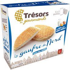 Trésors Gourmands 5x2 Gaufres du nord fourrées vanille 300g 5x2 gaufres 300g