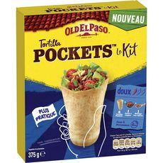 Old El Paso OLD EL PASO Kit tortilla pocket
