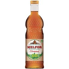 MELFOR L'original vinaigre bio aromatisé au miel et plantes 50cl