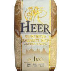 Riz basmati supérieur extra-long 1kg