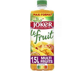 JOKER Jus multifruits le fruit sans sucres ajoutés 1,5l
