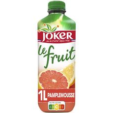 JOKER Jus de pamplemousse le fruit sans sucres ajoutés 1l