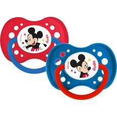 Dodie Sucettes anatomiques Disney Mickey A65 +18mois x2