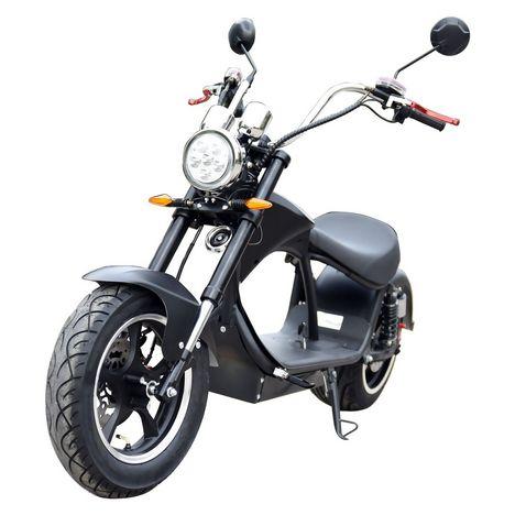 MOOVWAY Scooter électrique noir - Coco XXXL