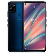 WIKO Smartphone View5 64 Go 6.55 pouces Bleu 4G Double port NanoSim