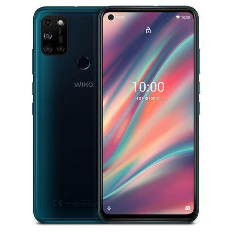 WIKO Smartphone View5 64 Go 6.55 pouces Vert 4G Double port NanoSim
